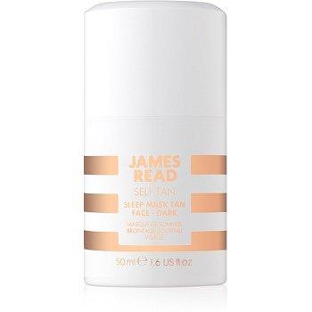 James Read Self Tan samoopalovací noční maska na obličej Medium/Dark 50 ml
