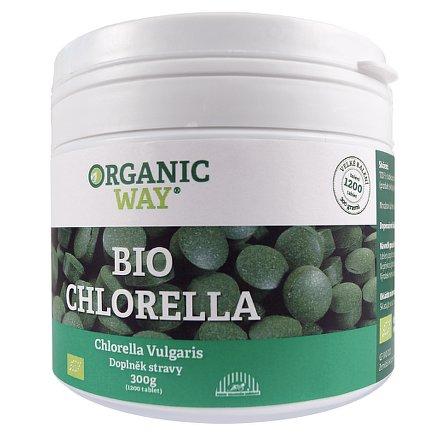 Organic WAY Chlorella BIO 300g tbl.1200