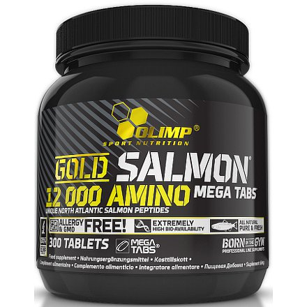 Gold Salmon 12000 Amino Mega Caps, 300 tablet