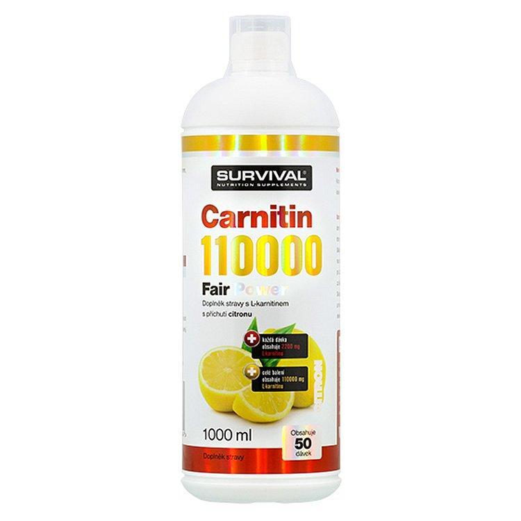 Carnitin 110000 Fair Power citron 1000ml
