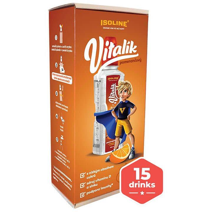 Isoline VITALÍK pomerančový 5x500ml