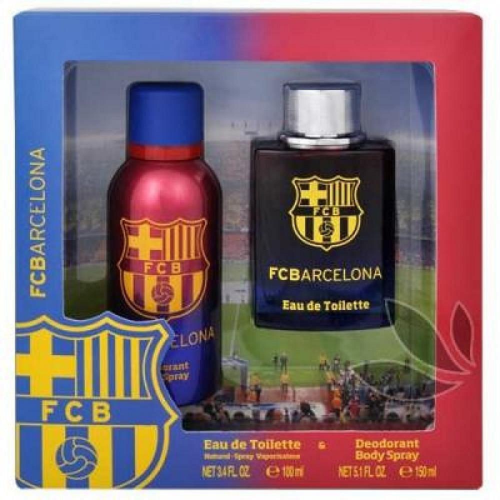EP Line FC Barcelona - toaletní voda s rozprašovačem 100 ml + deodorant ve spreji 150 ml