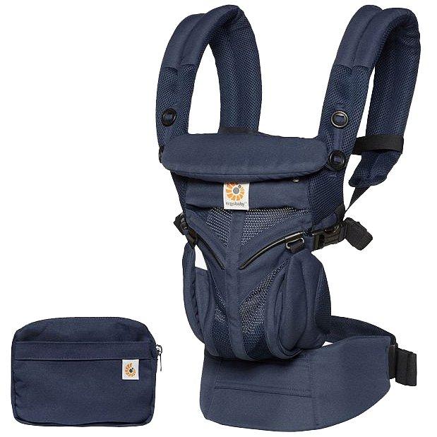 ERGOBABY Dětské nosítko Omni 360 Cool Air Mesh – Midnight Blue New