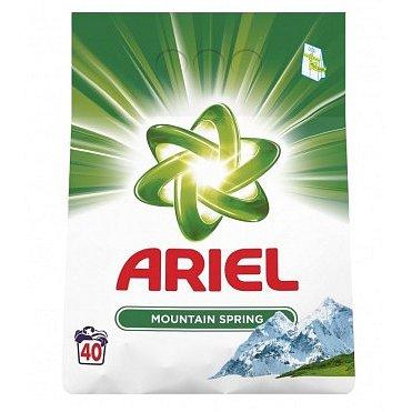 Ariel prášek Mountain Spring 3kg (40 pracích dávek)