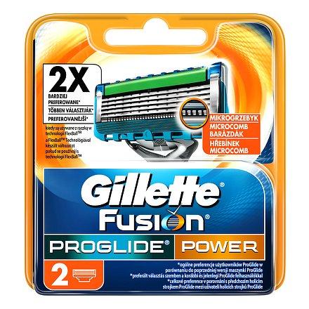 Fusion ProGlide Power náhradní hlavice 2ks