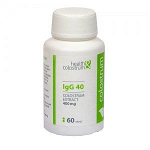 COLOSTRUM IgG 40 (400 mg) cps 60