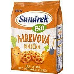 Sunárek Bio křupky mrkvová kolečka 50g