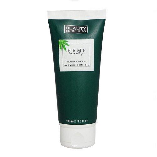 Beauty Formulas Krém na ruce s konopím Hemp Beauty (Hand Cream Organic Hemp Oil)  100 ml