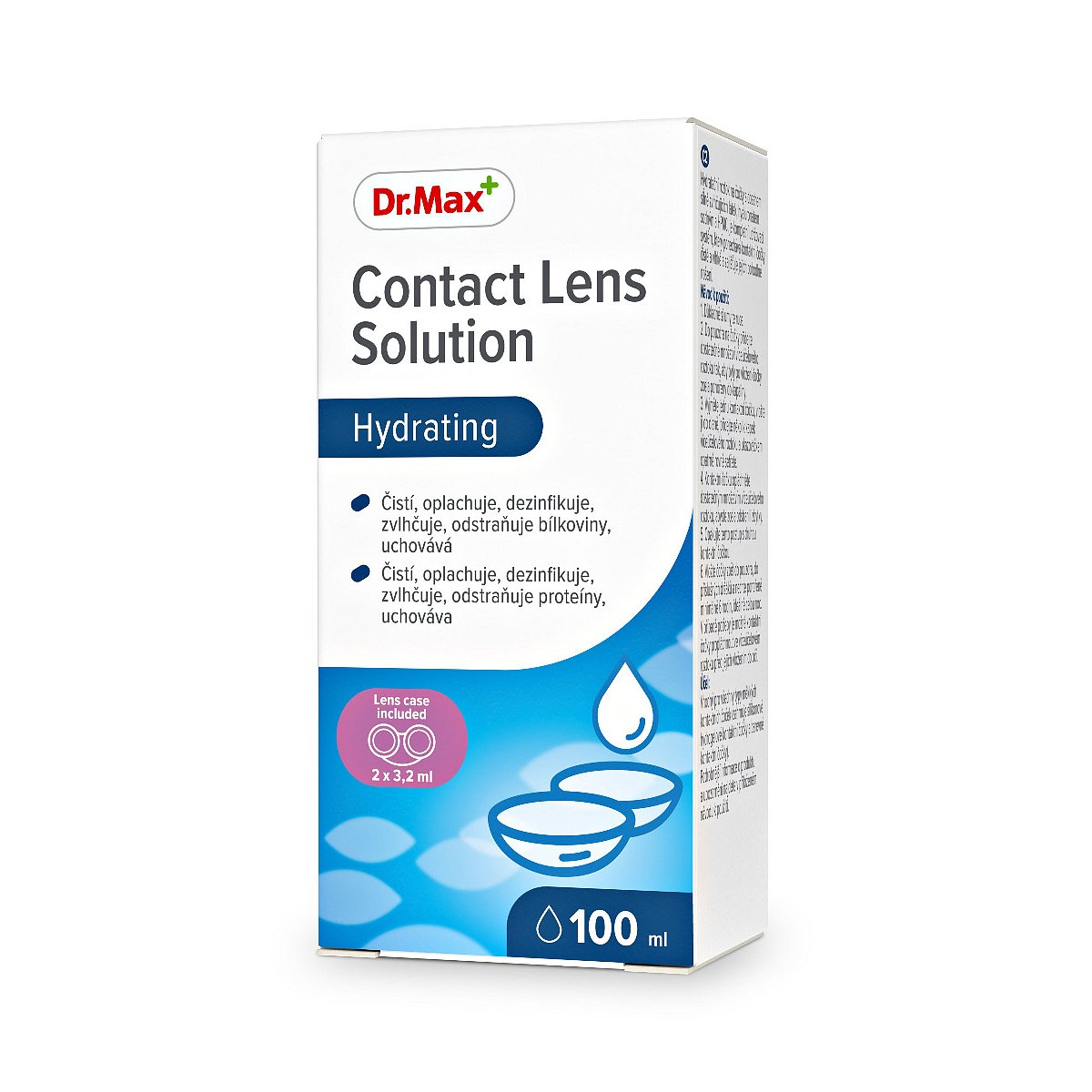 Dr.Max Contact Lens Solution roztok na kontaktní čočky 100 ml