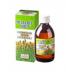 Dr.müller Müllerův sirup s jitrocelem a vitaminem C 320 g
