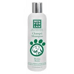 MenForSan Vyživující přírodní šampon pro psy s biotinem 300ml
