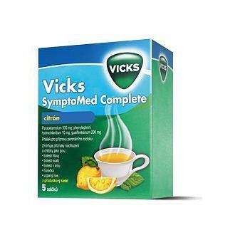 Vicks SymptoMed complete citrón perorální prášek roztok 5