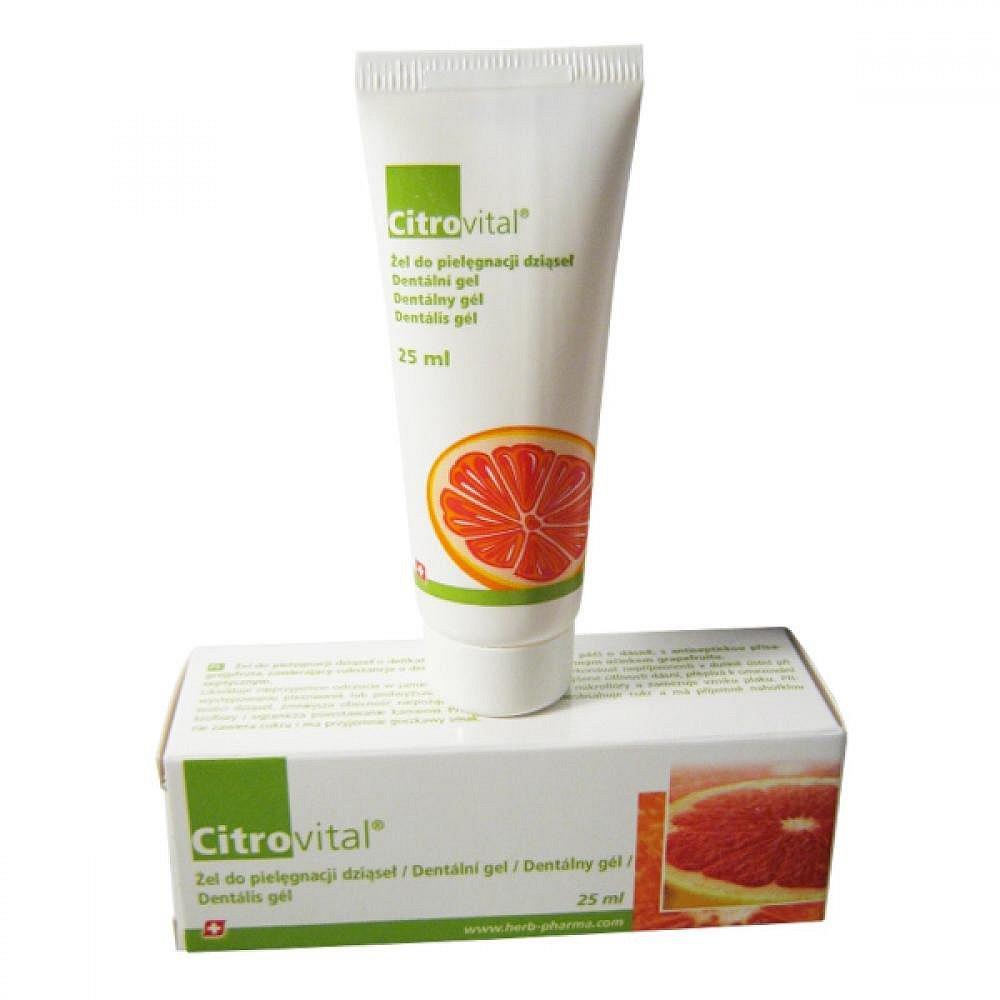 FYTOFONTANA Citrovital Dentální gel pro dospělé 25ml
