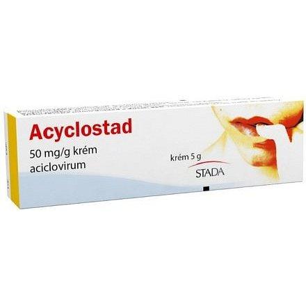 Acyclostad 50mg/g krém 5g