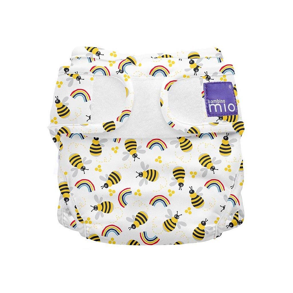 Bambino Mio Miosoft plenkové kalhotky Honeybee Hive 3-9kg