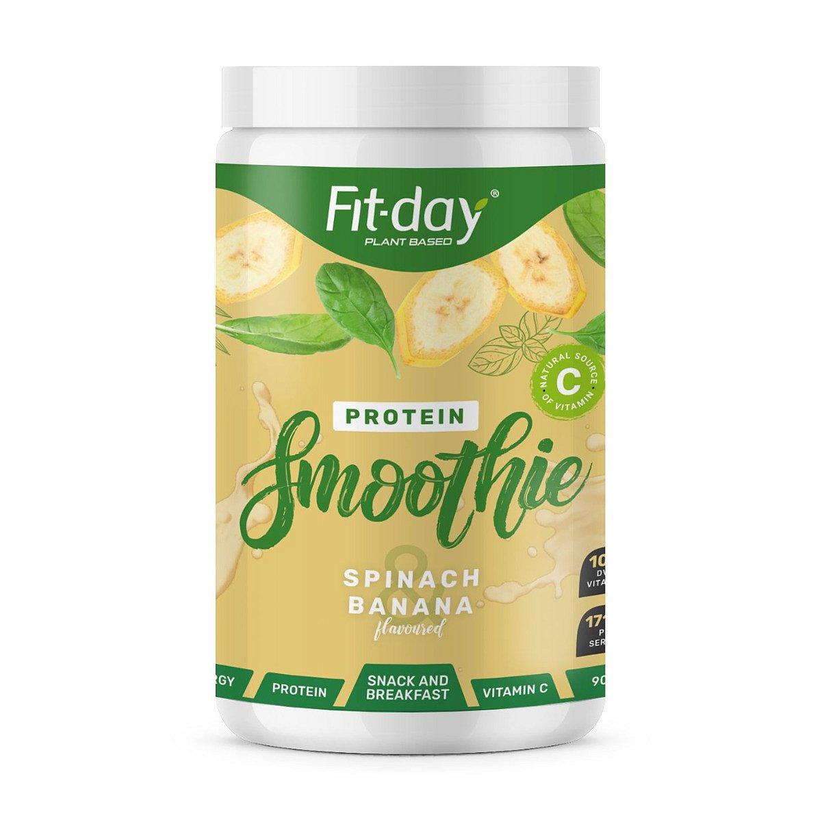 Fit-day Protein Smoothie špenát a banán 900 g