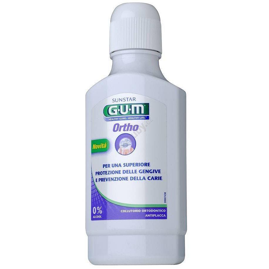 GUM Ortho ústní voda 300 ml