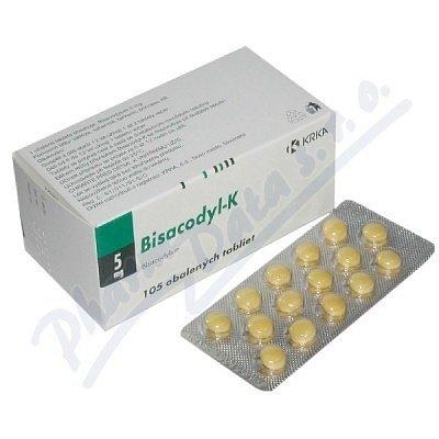 Bisacodyl-K dražé 105 x 5 mg