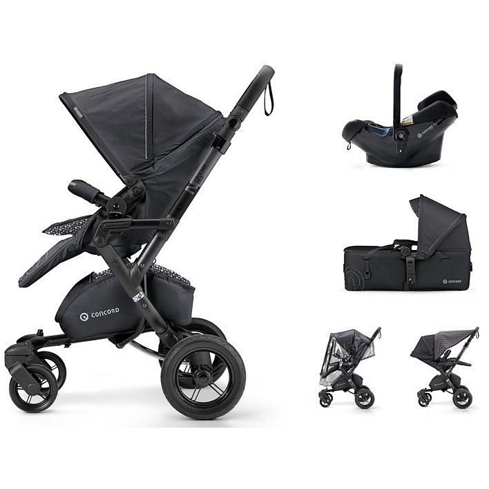 CONCORD Mobility Set Neo Air.Safe+Scout Cosmic Black 2018