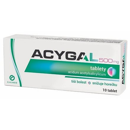Acygal 500mg 10 tablet