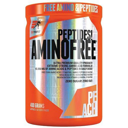 Aminofree Peptides 400 g broskev