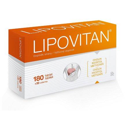 Lipovitan tablety 180 + 30 zdarma