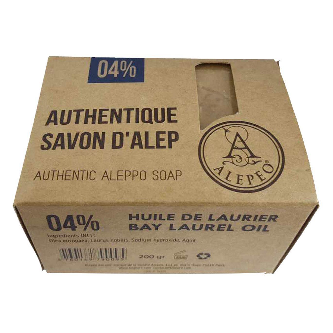 ALEPEO Tradiční mýdlo s vavřínovým olejem 4% 200 g