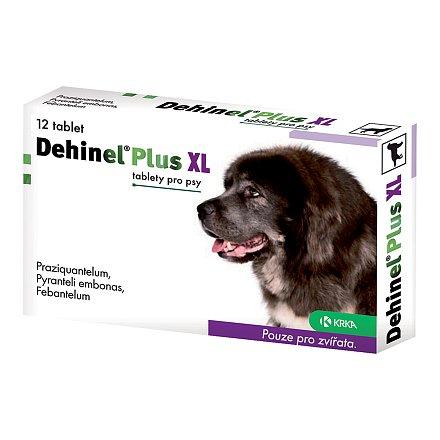 Dehinel Plus XL odčervovací tablety 12ks