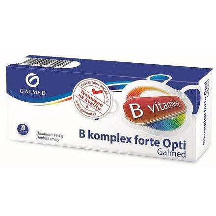 Galmed B komplex forte Opti 20 tablet