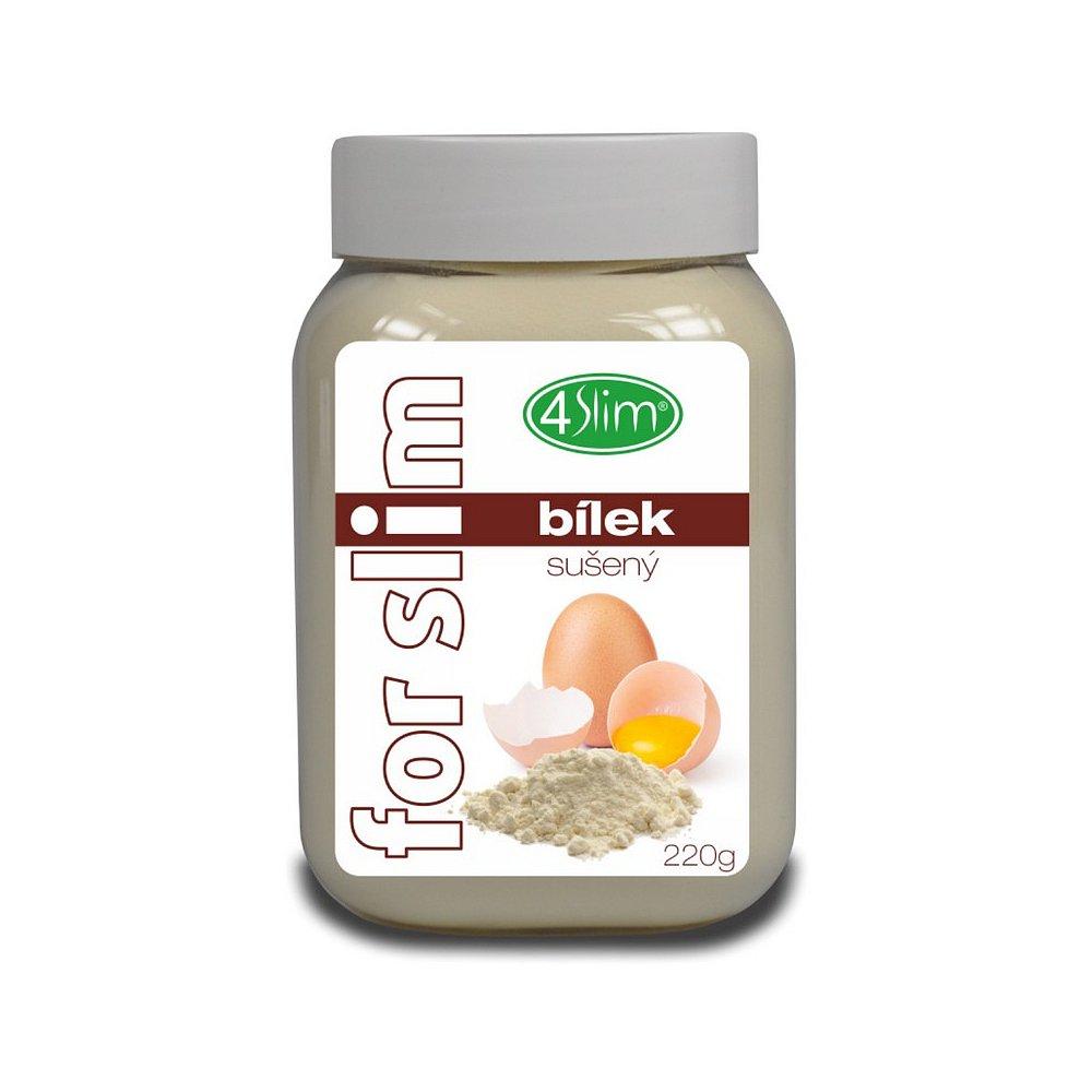 4SLIM Sušený bílek 220 g