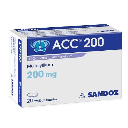ACC 200 perorální orální tobolky tvrdá 20 x 200 mg