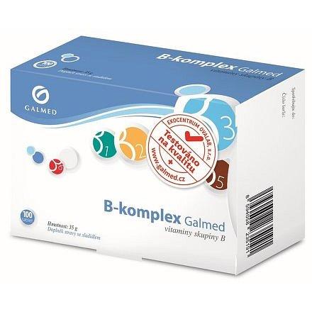 Galmed B-komplex 100 tablet