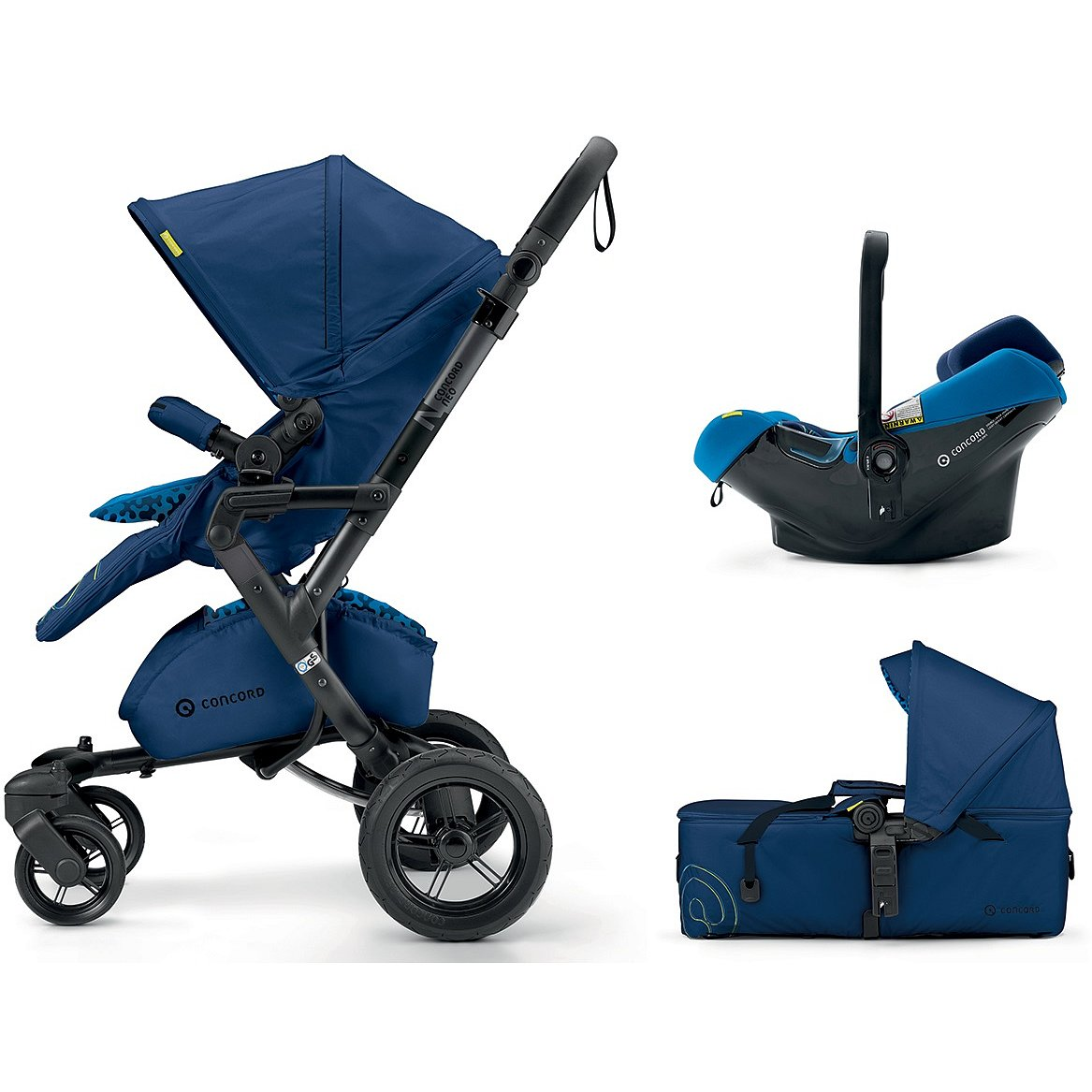 CONCORD Mobility Set Neo Air.Safe+Scout Snorkel Blue 2018