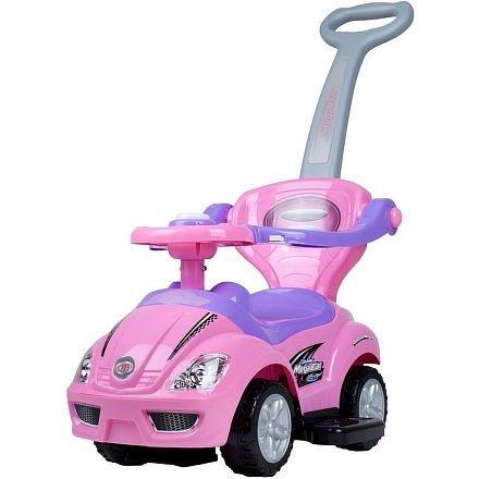 Dětské hrající jezdítko 3v1 Baby Mix pink