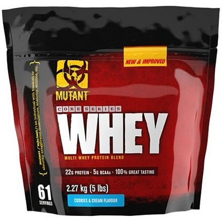 Mutant Core Series Whey (New & Improved) vanilka 2270g