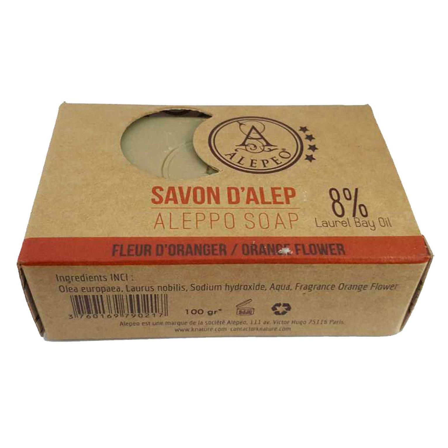 ALEPEO Tradiční ručně vyráběné mýdlo Pomeranč 8% 100 g