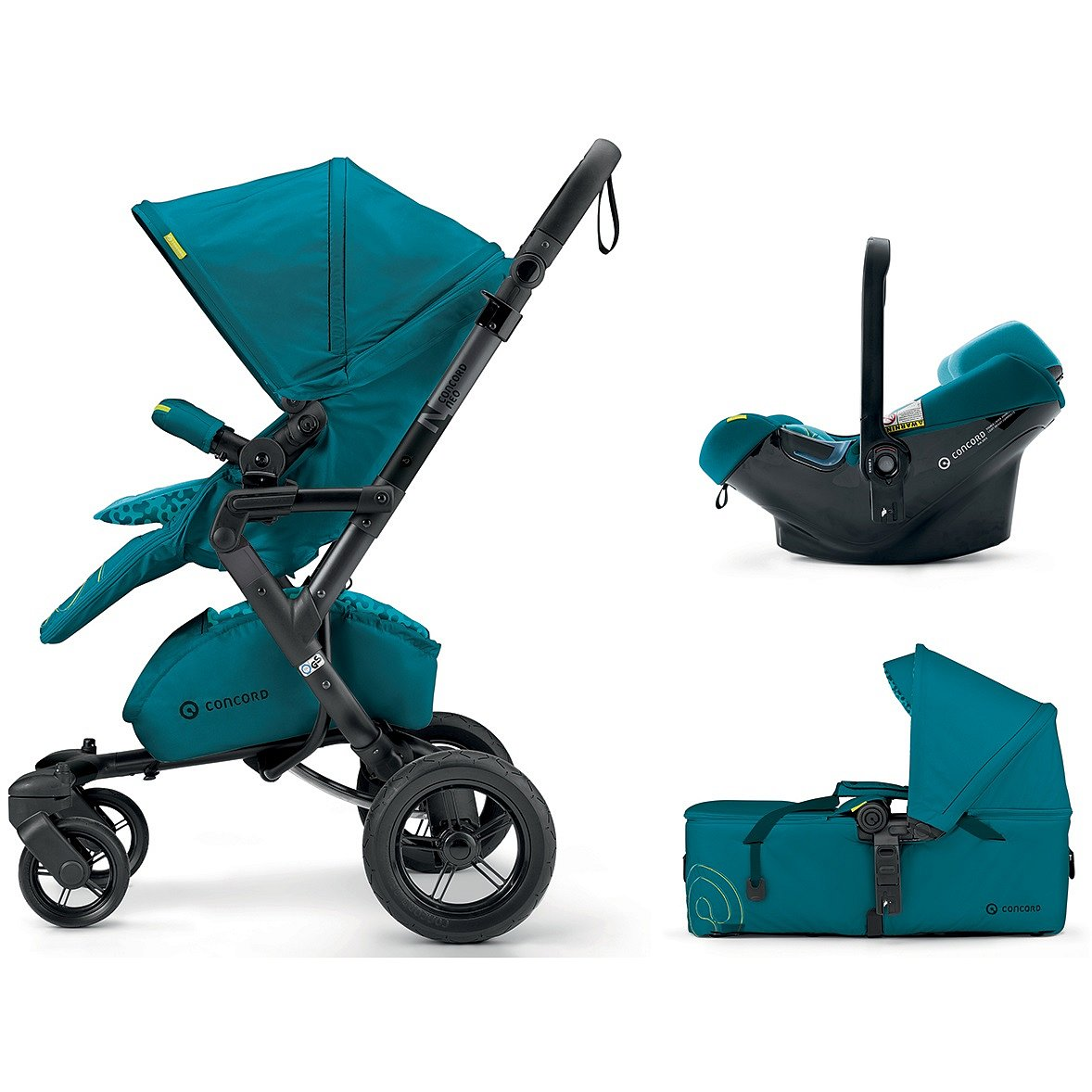 CONCORD Mobility Set Neo Air.Safe+Scout Scuba Green 2018