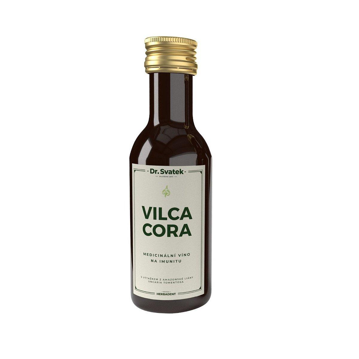 Dr. Svatek VILCACORA sladové víno na imunitu 250 ml