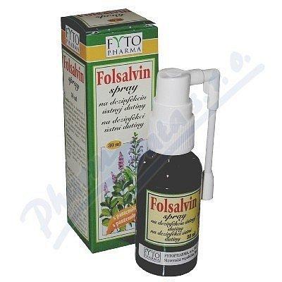 Folsalvin spray na dezinf.ústní dutiny 30ml Fytoph
