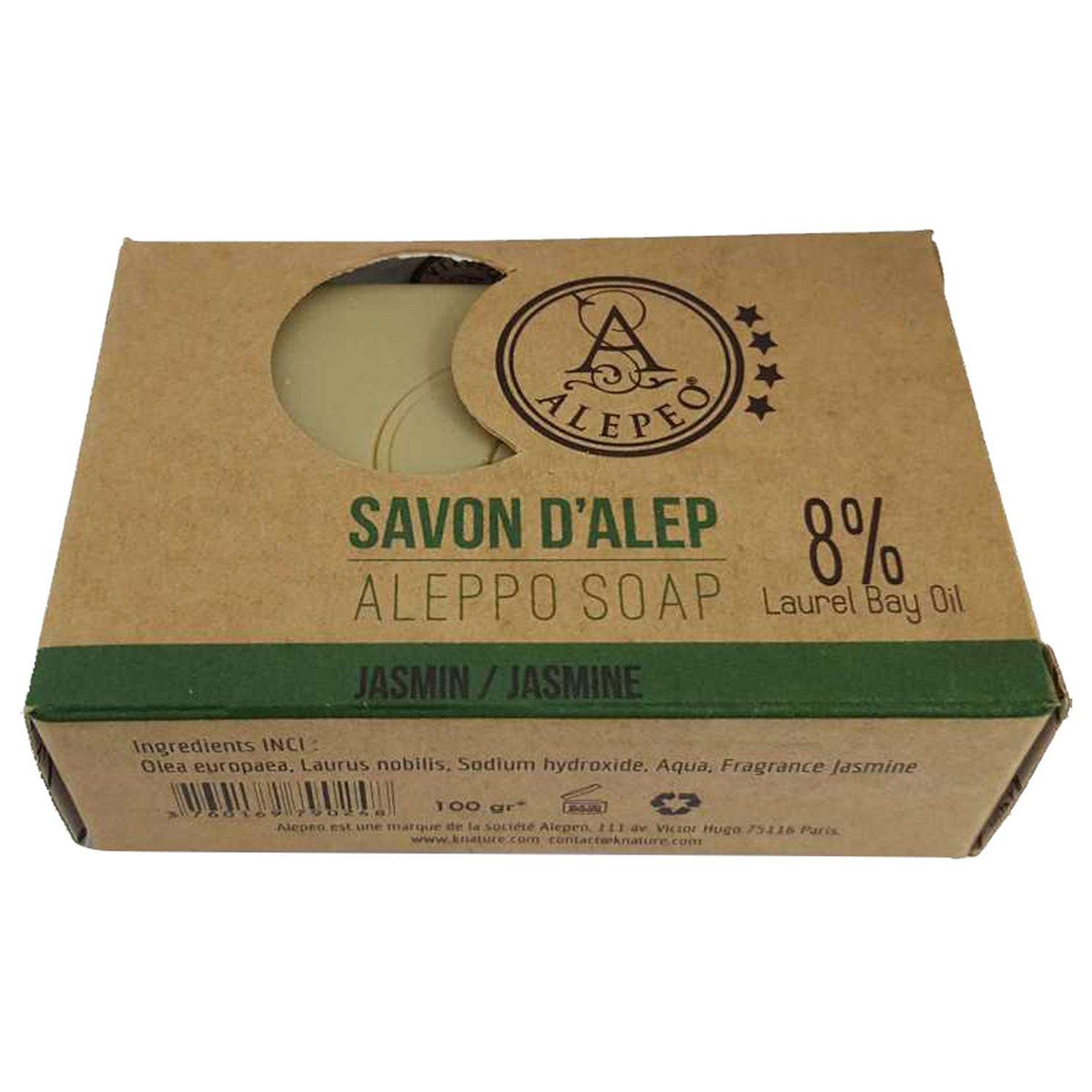 ALEPEO Tradiční ručně vyráběné mýdlo Jasmín 8% 100 g