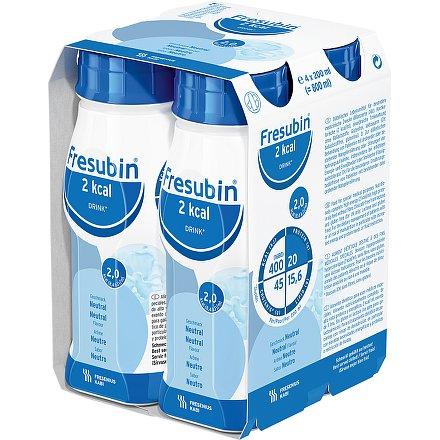 Fresubin 2 kcal drink neutral perorální roztok  4 x 200 ml