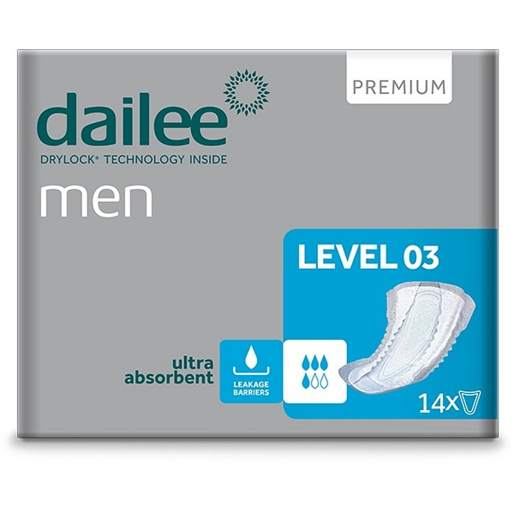 DAILEE Men Premium Level 3 inkontinenční vložky 14 ks