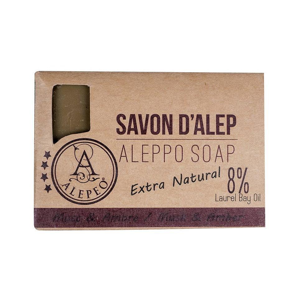 ALEPEO Tradiční ručně vyráběné mýdlo Mošus & Ambra 8% 100 g