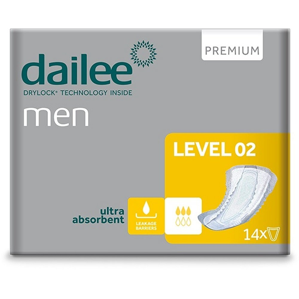 DAILEE Men Premium Level 2 inkontinenční vložky 14 ks