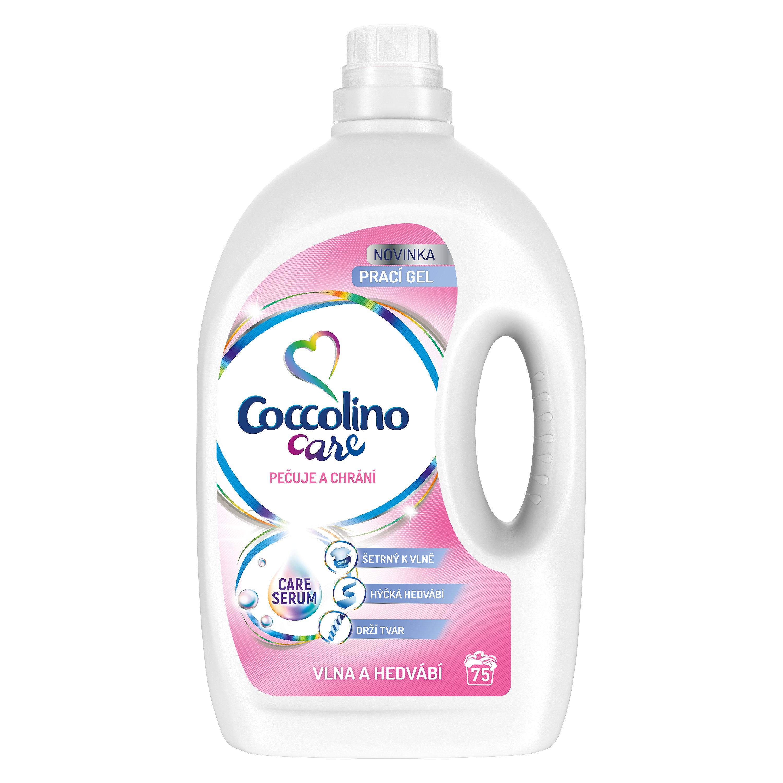 Coccolino Care Silk & Wool prací gel 75w 3 l