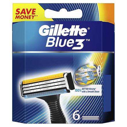 Gillette Blue3 náhradní hlavice 6ks