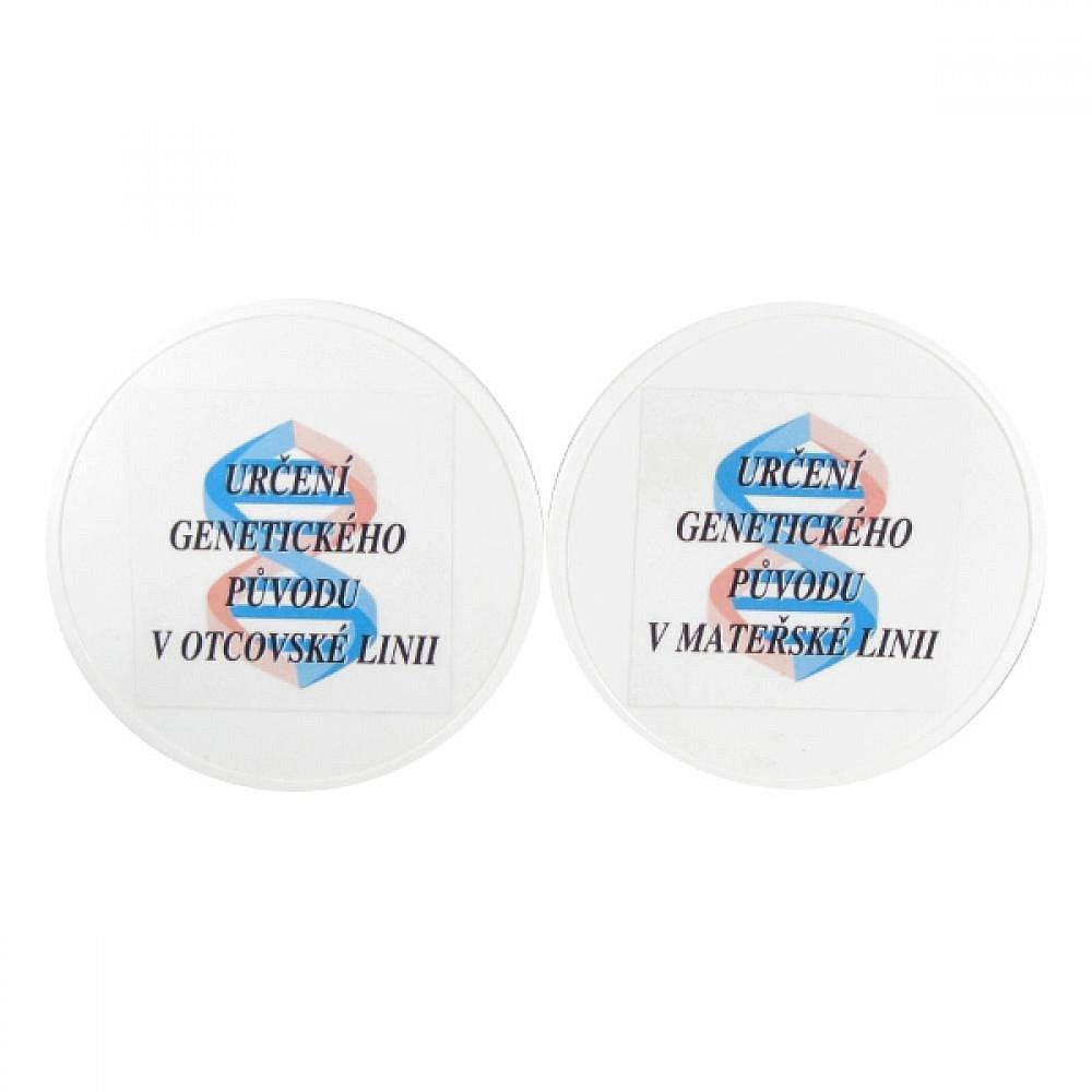Balíček genografických testů (genetické testy původu) z mateřské a otcovské linie