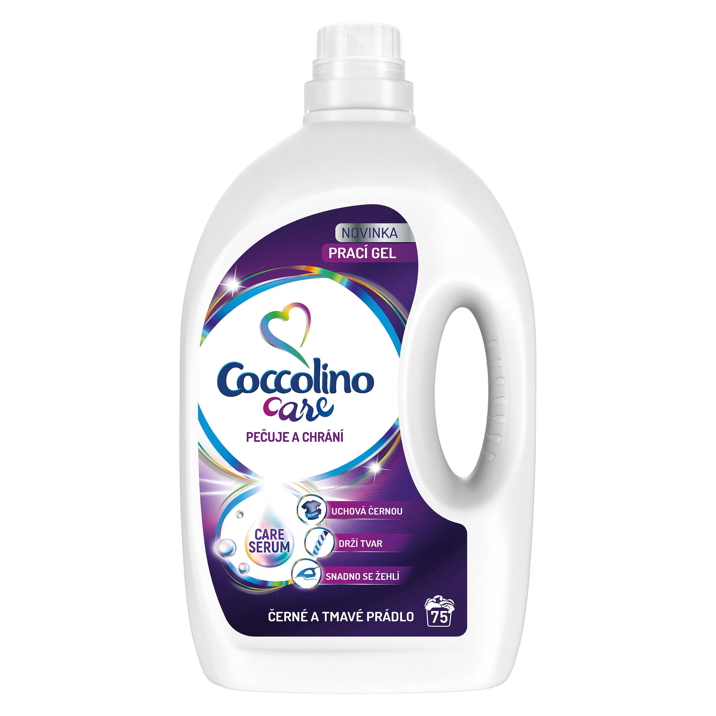 Coccolino Care Black prací gel, 75 praní 3 l