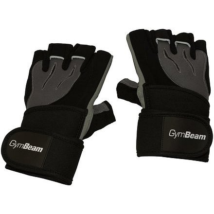 Fitness Rukavice Ronnie – Gym Beam black grey – velikost XS
