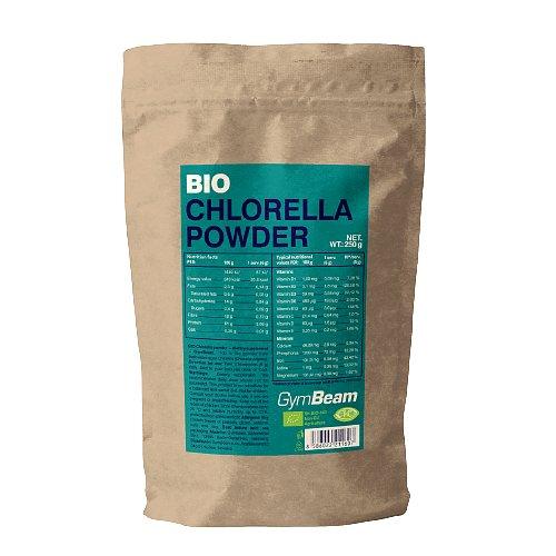 GymBeam Bio Chlorella prášek 250g